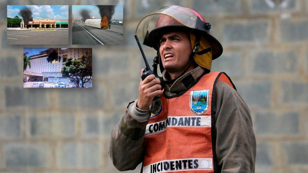 Comando y control de incendios